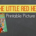 Printable Little Red Hen Rebus Recipes