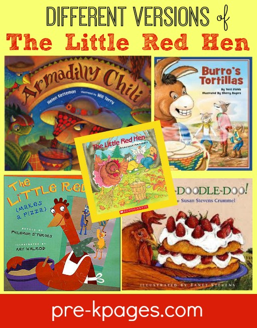 Different Versions of The Little Red Hen