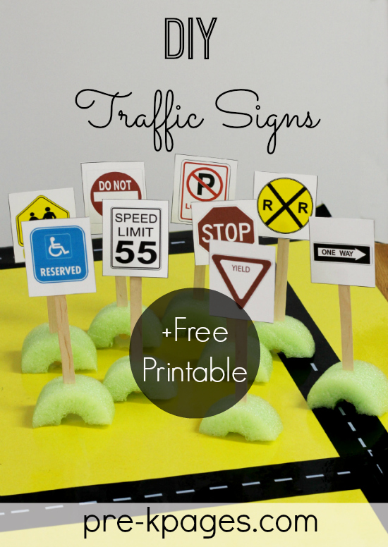 Environmental Print Activities on Printable Recycling Game
