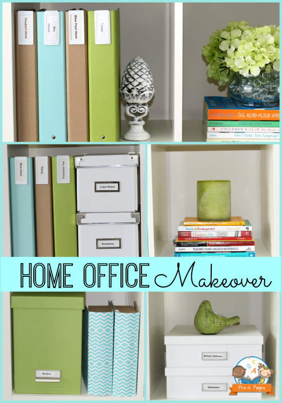 Inexpensive Home Office Makeover