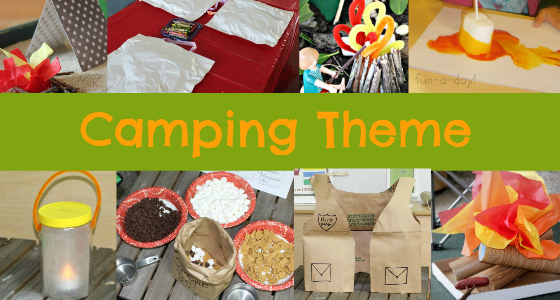 Camping Theme Activities