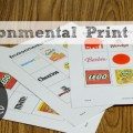 Free Printable Environmental Print Bingo Game