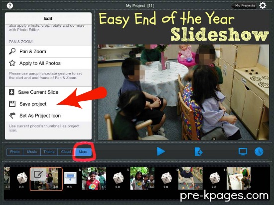 Graduation Slideshow for #preschool and #kindergarten