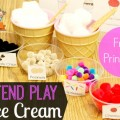 Pretend Play Ice Cream Parlor Ideas