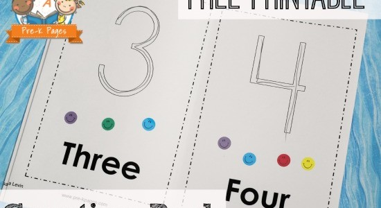 Printable Counting Book