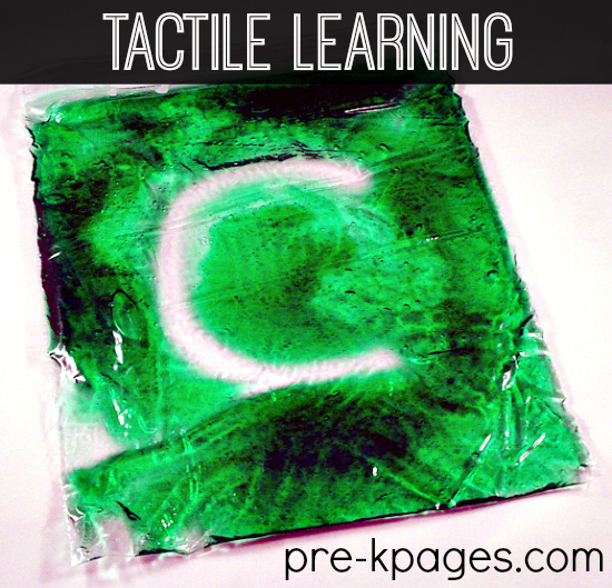 Multi-Sensory Learning DIY Gel Bags