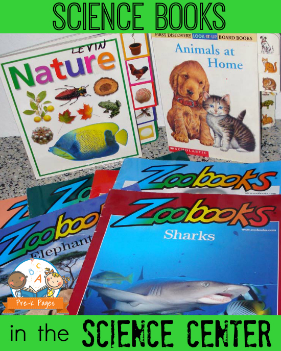 Science Books for Preschool