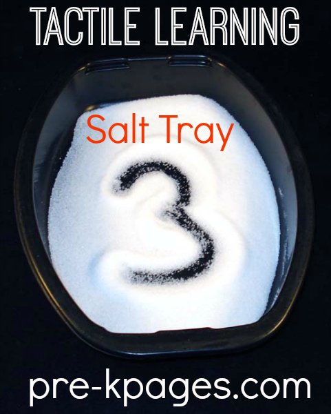 Multi-Sensory Learning Salt Trays