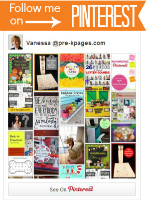 Pre-K Pages Pinterest Boards