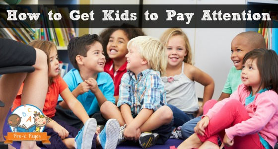 How to Get Kids to Pay Attention