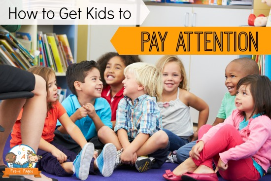 Getting Kids to Pay Attention in the Classroom