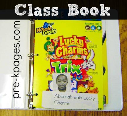 Environmental Print Class Book