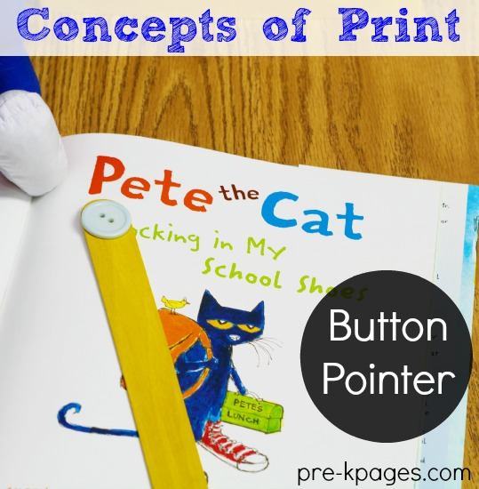 Pete the Cat Button Pointer