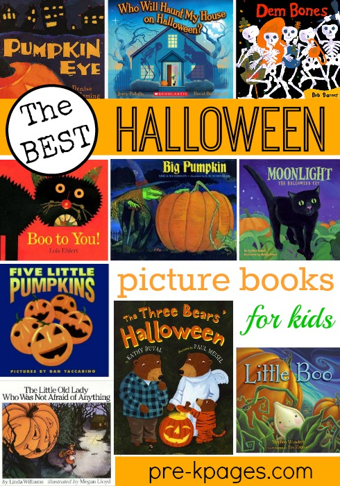 The Best Halloween Books for Preschool and Kindergarten