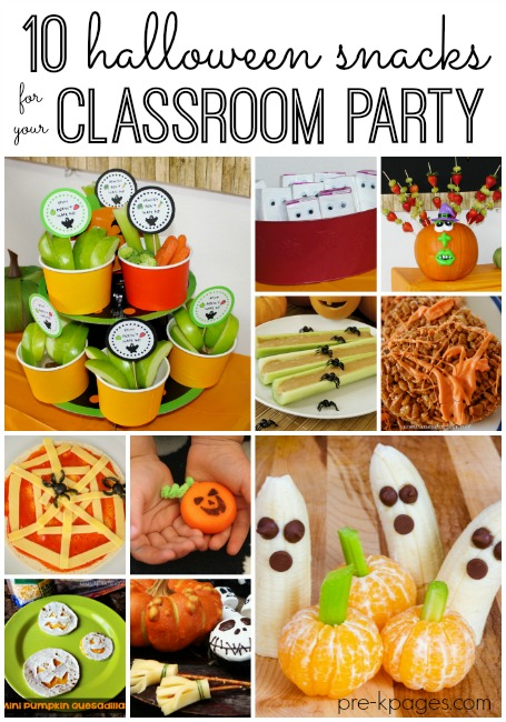 Classroom Cooking Ideas ~ Classroom halloween party snacks
