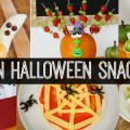 Healthy Halloween Party Snacks for Kids