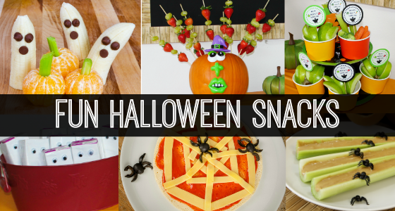 Classroom Halloween Party Snacks