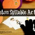 Skeleton Gloves Syllable Game
