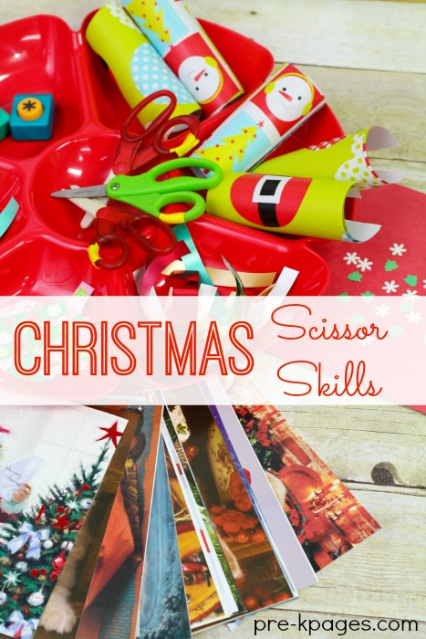 Christmas Scissor Skills and Cutting Practice Activities