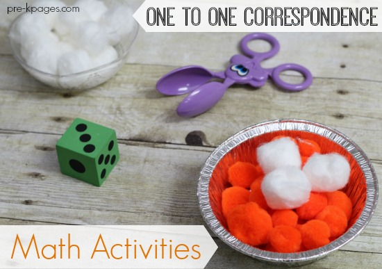 Thanksgiving One To One Correspondence Activities