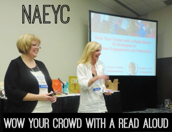 Wow your crowd with a read aloud at naeyc wow your crowd professional development session at naeyc fandeluxe Gallery