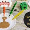 One to One Correspondence Activities for Thanksgiving in Preschool and Kindergarten
