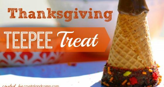 Classroom Recipes: Thanksgiving TeePee