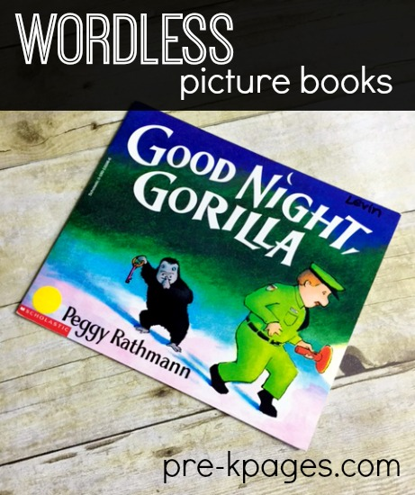 Using Wordless Picture Books in Preschool
