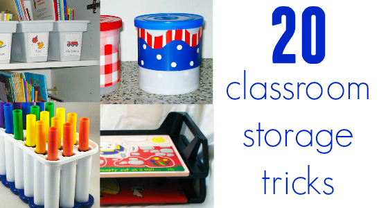 Classroom Board Ideas For Preschool ~ Classroom storage ideas