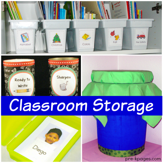 20 Classroom Storage Tips to Try This Year in Preschool and Kindergarten!