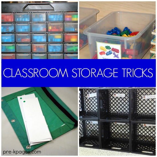 Classroom Ideas Pre K ~ Classroom organization and storage tips