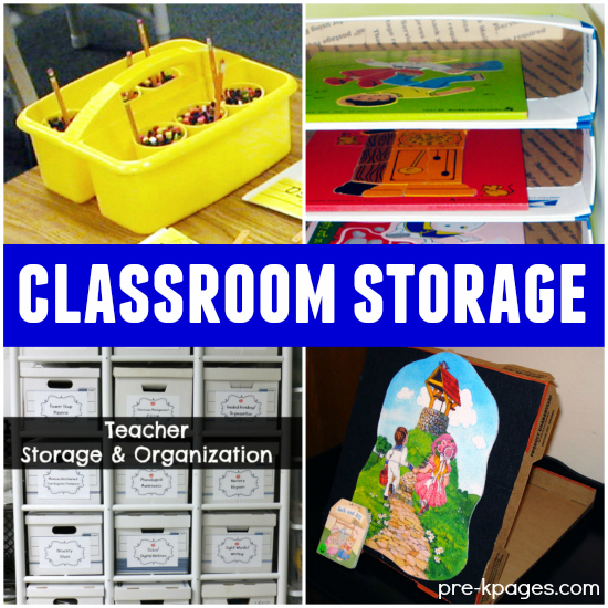 Classroom Organization Ideas For Kindergarten ~ Classroom storage ideas