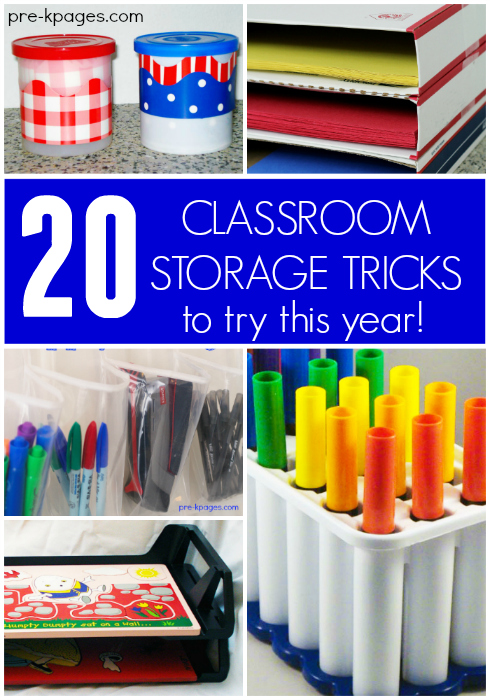 Classroom Storage Ideas ~ Classroom storage ideas