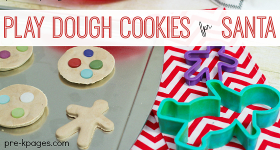 Cookies for Santa Writing Activity for Preschool