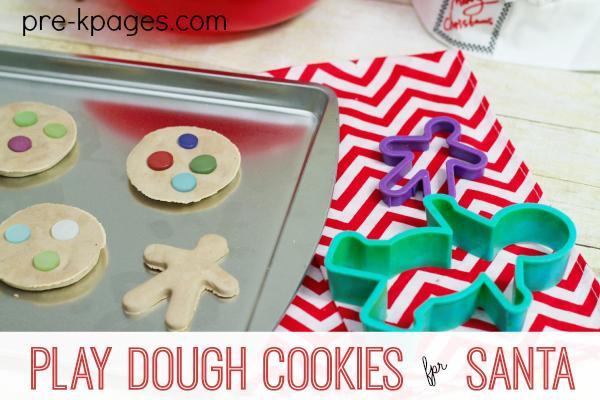 Play Dough Cookies for Santa