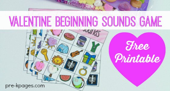 Letter Hearts Beginning Sounds Game