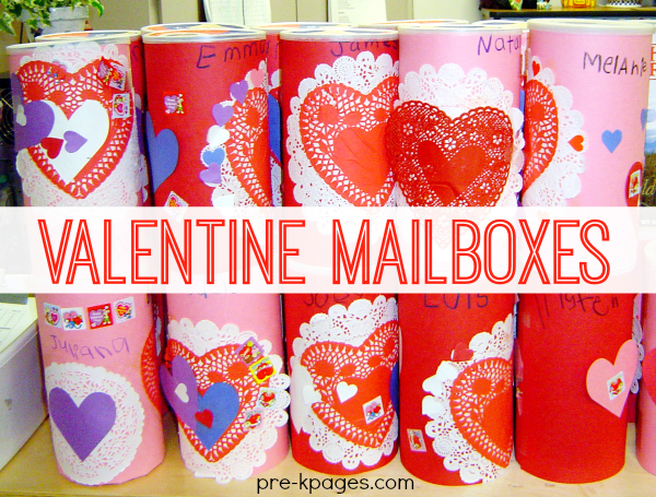 Easy Oatmeal Valentine Mailboxes for Kids to Make