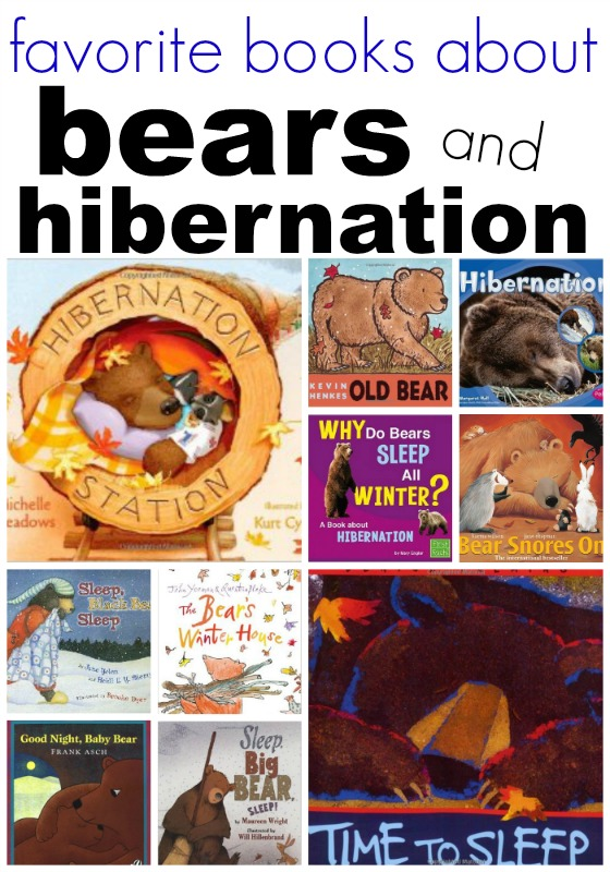 Bears and hibernation books for preschool for Hibernation crafts for preschool