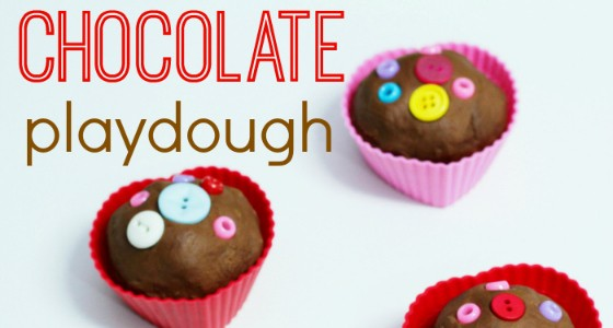Chocolate Playdouh Recipe for Valentine's Day