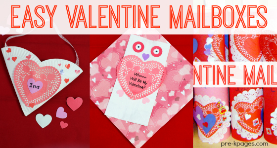 Easy Valentine Card Holders – Valentine Card Holders for Preschoolers