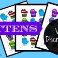 Mitten Visual Discrimination Printable Activity for Preschool and Kindergarten