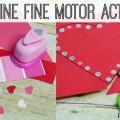 Fun Valentine Fine Motor Activities for Preschoolers