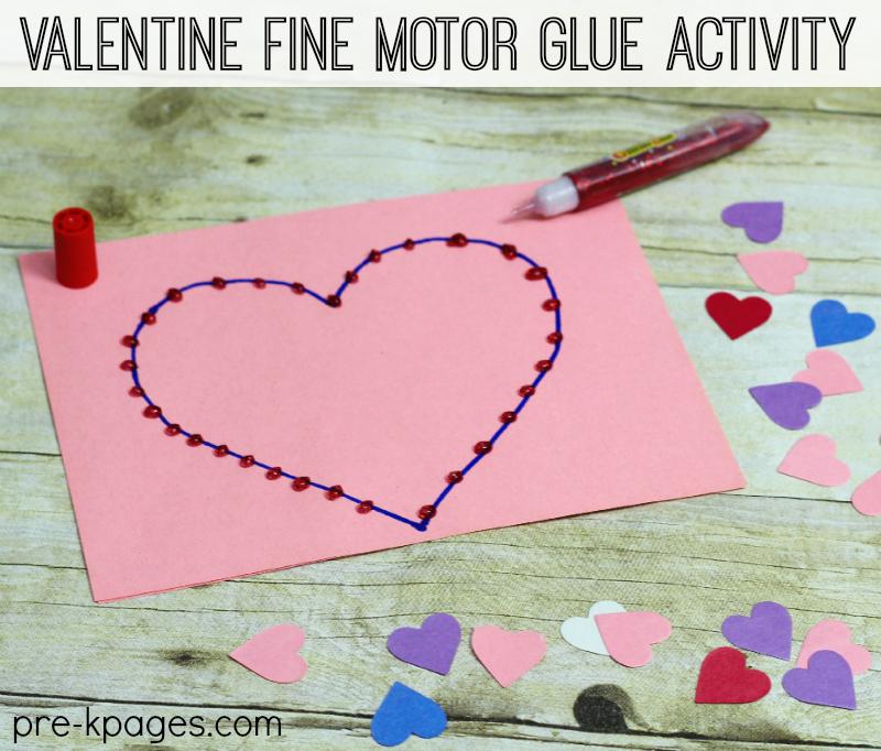 Valentine Fine Motor Activities For Preschoolers