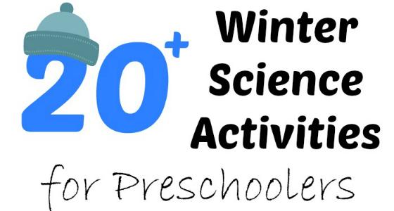 Winter Science Activities for Preschoolers