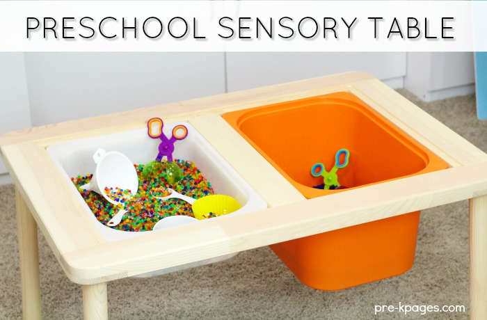 What Is A Sensory Bin Pre K Pages