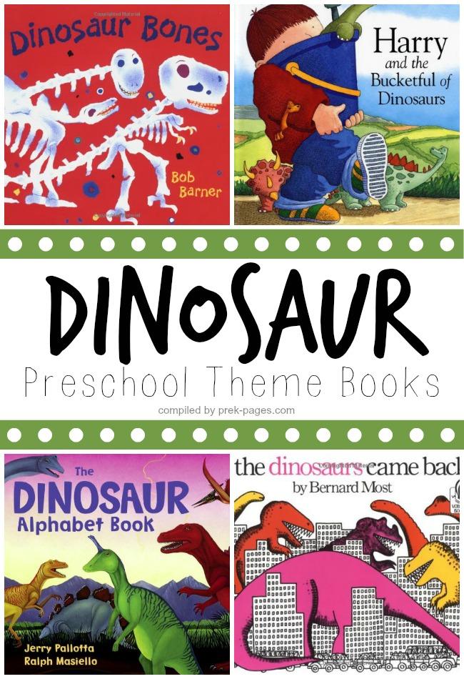 preschool dinosaur theme books - Book For Kindergarten
