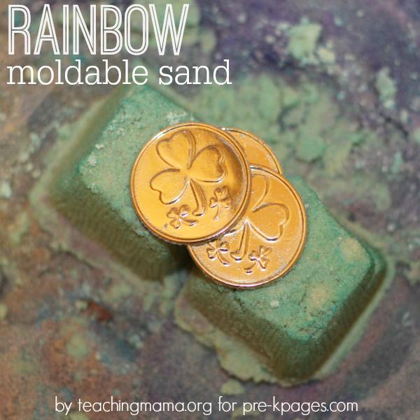 Rainbow Sensory Sand
