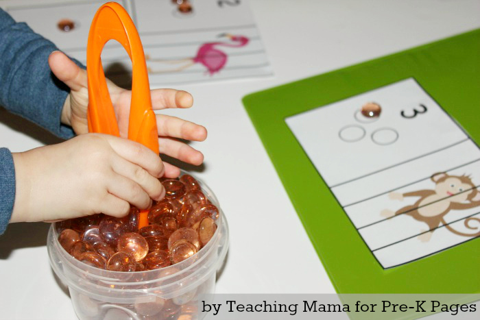 Zoo Animal Fine Motor Practice for Preschool