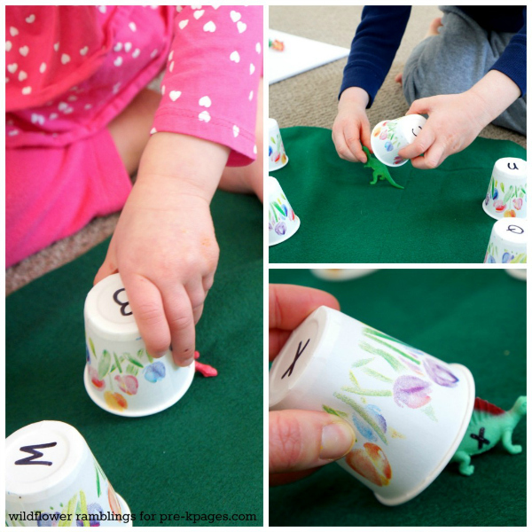Alphabet Matching Activity with Dinosaurs for Preschoolers