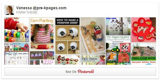 Farm Theme Pinterest Board